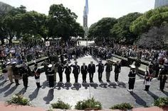 In Argentina they celebrate and honor all the fallen soldiers from the war. This is known as Malvinas day.