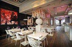 Restaurant & Hotel Manna in Nijmegen. Kijk voor meer eten en drinken in Nijmegen op http://www.centrumnijmegen.nl/eten-en-drinken