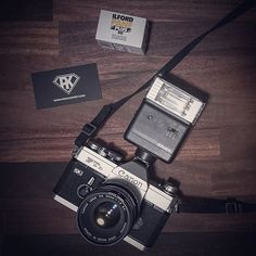 Film camera set of the day.  #filmphotography #analogphotography #canon #canonftb #ilford #ilfordpanf #photography #photogear #dailygear #35mm #35mmfilm #35mmphotography