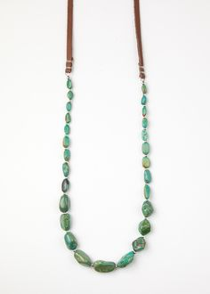 Mountain Mama Leather Necklace by SoulMakes.com