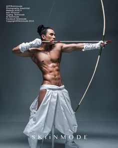 Snow warrior by Leica Q Male pose reference, guy shooting bow and aarow Human Reference, Anatomy Reference, Art Reference Poses, Photo Reference, Character Reference, Drawing Reference, Character Design, Action Posen, Mode Man