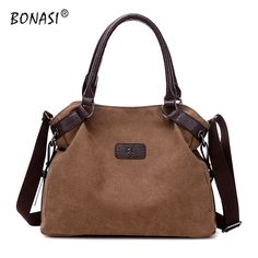 A1-2017 Fashion Canvas Totes Bag  Women Handbag Shoulder Bags  messenger bags