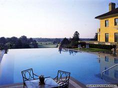 Keswick Hall - Best Hotels for Summer Getaways - Southern Living Hotels And Resorts, Best Hotels, Vacation Resorts, Vacation Ideas, Vacations, Outdoor Swimming Pool, Swimming Pools, Horizon Pools, Aqua Pools