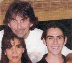 ♡♥Dhani Harrison with his parents♥♡