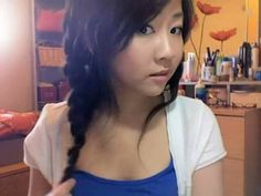 Here's some more Bubz action for hair do tutorials. It's a Song Hye Kyo Braid style.