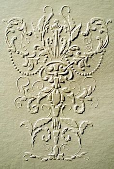 No matter what color you wind up using this plaster stencil design for, it's going to be simply breathtaking! A great stencil for use as a repeated wallpaper, damask stencil design or on furniture a