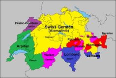 Languages/dialects of Switzerland