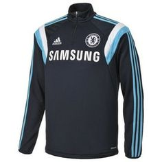 Chelsea Training Top 2014 - 2015 (Navy), part of the official training range for Chelsea FC http://www.soccerbox.com/32006