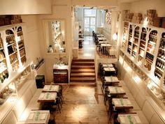 La Polpa Fresh and Simple Restaurant Interiors http://www.lazarorosaviolan.com/en/projects/restaurants/la-polpa