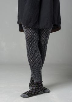 """""""Thora"""" leggings in cotton/nylon – Accessories – GUDRUN SJÖDÉN – Webshop, mail order and boutiques 