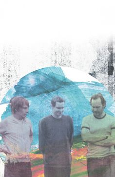 Sigur Ros by Kate Banazi. Love this artist and that band!