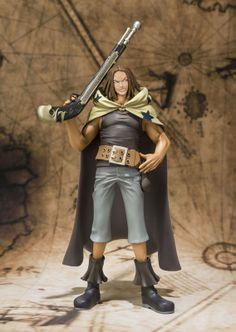 Figura One Piece. Yasopp, Figuarts Zero, 16cm Figura fabricada en plástico PVC de 16cm, del personaje de Yasopp, protagonista del manga-anime One Piece.