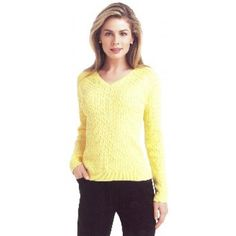 EP Pro Basic Long Sleeved Cable Knit Sweater