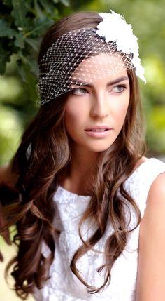 gorgeous netting bandeau