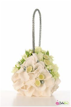 Floral sculpted fabric bags - Google Search