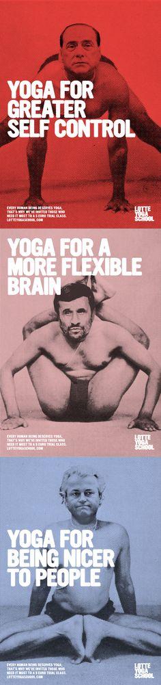 yoga ads