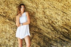All White Photoshoot at ARzantkeren.com TopShop Dress Cave