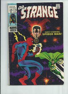 DR STRANGE #179 Great Silver Age find guest starring Spider-Man!! http://r.ebay.com/sWdoNf