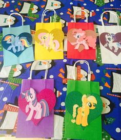 Mi pequeño pony favor bolsas-1 por orden por RowdyBoysDesigns