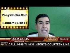 Indianapolis Colts vs. New York Jets Pick Prediction NFL Pro Football Od...