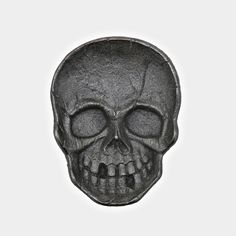 Cast Iron Skull Dish Decoration by HomArt - Cool Material - 1