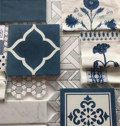 Scheming away with tiles and fabrics for a mudroom-laundry. Bath Remodel, Interior Design Living Room, Interior Design Boards, Interior Colors, Interior Livingroom, Tile Design, Cheap Home Decor, House Colors, Home Projects