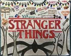 Super cool and fun Stranger Things drawing Stranger Things Quote, Stranger Things Aesthetic, Eleven Stranger Things, Stranger Things Netflix, Drawing Quotes, Drawing Drawing, Kalender Design, Printable Poster, Aesthetic Drawing