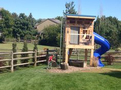 Boys Playhouse Ideas Boys Clubhouse Complete With Firemans