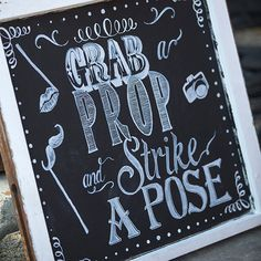 Get guests excited for your photo booth!