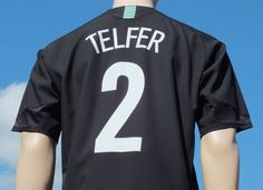 Celtic F.C. 3rd Shirt 2005-2007 Champions League Qualifier Telfer 2 Player Issue