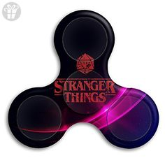 Tri-Spinner Fidget Toy Stranger Things Fidget Spinner, EDC Hand Spinner Perfect For ADD, ADHD, Anxiety, And Autism Adult Children 1-3 Min Spins For Killing Time - Fidget spinner (*Amazon Partner-Link)