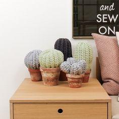 Gehäkelt Kaktus