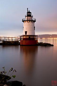 Lighthouse Reflection by Lynne Pitts, via 500px