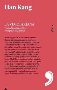 La vegetariana, de Han Kang