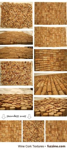 would love to do a wall just covered in corks. too bad I'm not a big wine drinker.I would love to do a wall just covered in corks. too bad I'm not a big wine drinker. Wine Craft, Wine Cork Crafts, Wine Bottle Crafts, Diy Cork, Wine Corker, Wine Cork Projects, Cork Wall, Wine Bottle Corks, Textured Background
