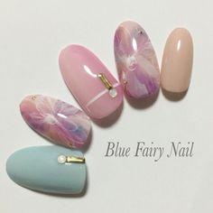 フェザーフラワー|吹田市 千里丘 ネイルサロン Blue Fairy Nail