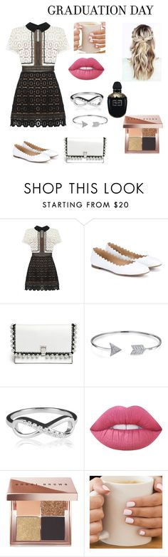 """""""#graduationdaydress yay"""" by letsempowergirls ❤ liked on Polyvore featuring self-portrait, Chloé, Proenza Schouler, Bling Jewelry, Lime Crime, Bobbi Brown Cosmetics and Alexander McQueen"""
