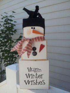 SUPER SATURDAY CRAFT KITS ninot de neu amb caixes