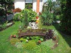 imagenes de jardines de casas pequeñas verticales