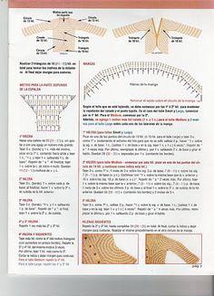 As Receitas de Crochê: Casaco de crochê de circulos