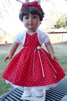 18 Doll Clothes 1950's Style Party Dress For by Designed4Dolls, $24.95