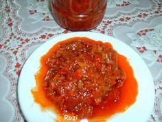 Rozi erdélyi,székely konyhája: Ételízesítő,pörköltek,levesek és mártásokhoz Beef, Ketchup, Chili, Soup, Red Peppers, Meat, Chile, Soups, Chilis