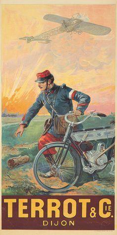 Cycles Terrot ~ Francisco Tamagno | #Bicycles #Terrot #Tamagno