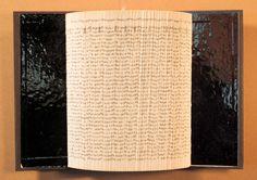 "Circular Argument. 2015 Master's Exhibition, 9 x13"" Renovated Book"