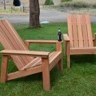 build your own adirondack chairs - Build Your Own Adirondack Chairs - Cool Rustic Furniture, ana white first build redwood adirondack chairs diy projects Plastic Patio Chairs, Outdoor Chairs, Outdoor Decor, Outdoor Dining, Outdoor Furniture Plans, Rustic Furniture, Paint Furniture, Office Furniture, Modern Furniture