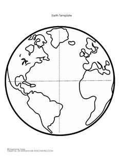 fld napjra - Earth Coloring Page