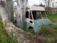 Torrelaguna. Lugar de descanso de una furgoneta