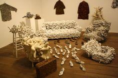 Exposition Kusama - Tate Modern - 2012 - Photo : Stéphanie LENNE