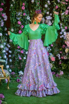 Trajes de flamenca 2019. Colección 2019. Sueña Primaveras