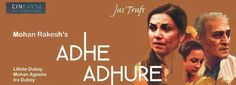 Watch the life of Anuschka Sawhney Savitri, a middle-aged woman, unfold, in AdheAdhure, tonight and tomorrow, 7:30PM. Book tickets, here- https://in.bookmyshow.com/buytickets_v4/cineplay-jus-trufs-bengaluru/cinema-bang-CJTB-MT/20160227